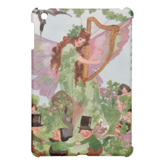 Vintage Irish Faeries iPad Mini Covers