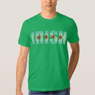 Vintage Irish Flag of Chicago T-shirt