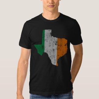 Vintage Irish Flag Texas State Shirt