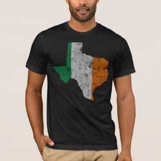 Vintage Irish Flag Texas State T-Shirt