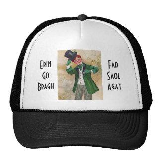 vintage irish gentleman hat