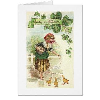 Vintage Irish Morning St. Patrick's Day Card