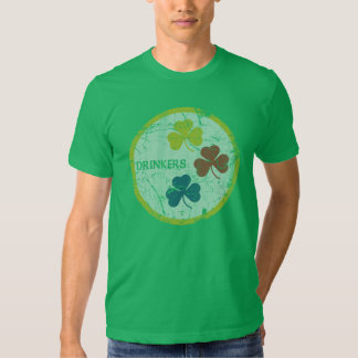 Vintage Irish Pittsburgh Drinkers St Patrick's Day Tee Shirt