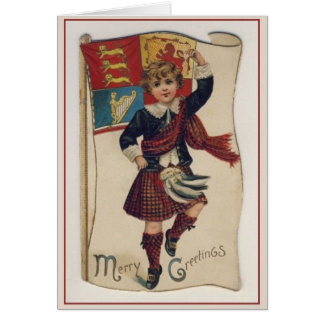 Welsh christmas gifts on zazzle vintage irish scottish welsh christmas card m4hsunfo