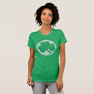 Vintage Irish Shamrock St Patrick's Day T-Shirt
