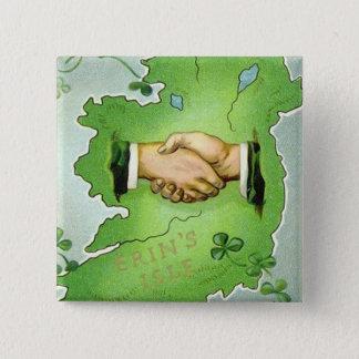 Vintage Irish St. Patrick's Day Button