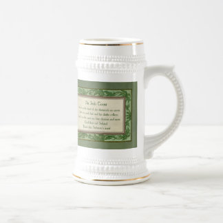 Vintage Irish Toast Beer Stein