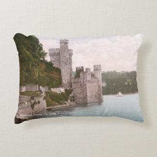 Vintage Irlanda, castillo de Blackrock, corcho del Cojín