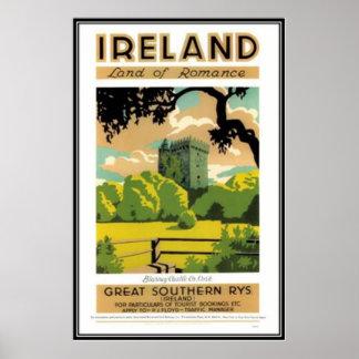 Vintage Irlanda - Póster