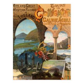 Vintage Irlanda - Postal
