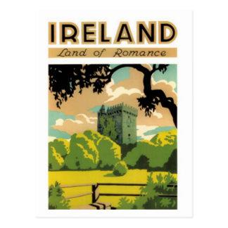 Vintage Irlanda - Tarjeta Postal