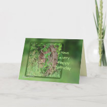 Vintage Iron Wheel card- customize any occasion Card