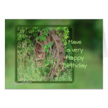Vintage Iron Wheel card- customize any occasion Greeting Card