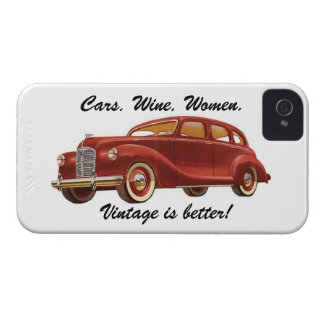 Vintage is Better! iPhone Case iPhone 4 Case