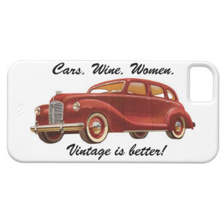 Vintage is Better! iPhone Case iPhone 5 Cases