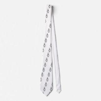 Vintage Islamic Calligraphy Design Neck Tie