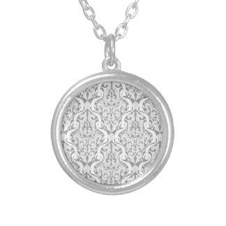 Vintage Islamic Motif Pattern Necklaces