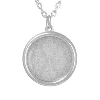 Vintage Islamic Motif Pattern Personalised Necklace
