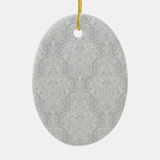 Vintage Islamic Motif Pattern Christmas Ornament