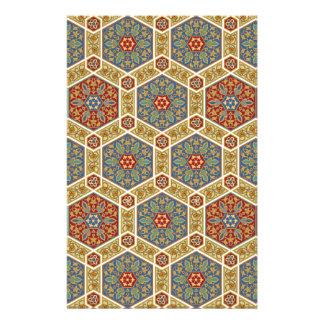 Vintage Islamic Pattern Design Stationery