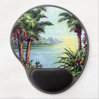 Vintage Island Gel Mouse Pad