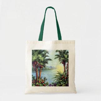 Vintage Island Tote Bag