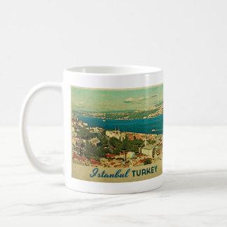 Vintage Istanbul Turkey Coffee Mug