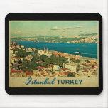Vintage Istanbul Turkey Mouse Pad