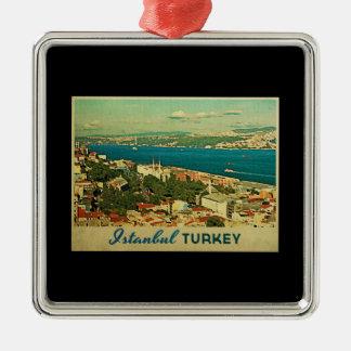 Vintage Istanbul Turkey Christmas Tree Ornaments