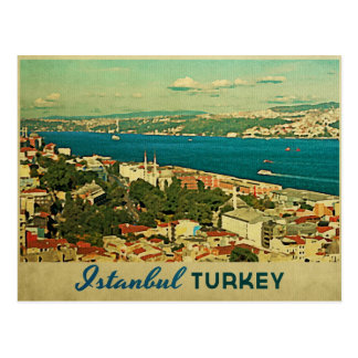 Vintage Istanbul Turkey Postcards