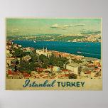 Vintage Istanbul Turkey Posters