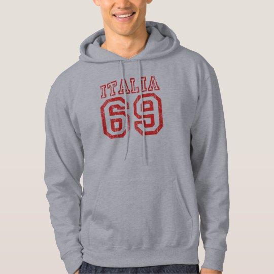 Vintage Italia 69 Hooded Sweatshirt