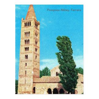 Vintage Italia abadía de Pomposa Ferrara