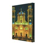 Vintage Italia, basílica de Lavagna Lienzo Envuelto Para Galerias