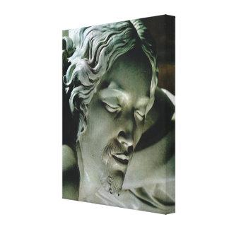 Vintage Italia, cabeza de Cristo, Pieta, Miguel Án Impresiones En Lona