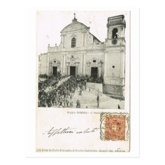 Vintage Italia, festival, catedral, Reggio Tarjetas Postales