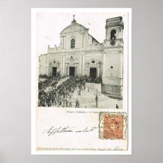 Vintage Italia, Reggio Di Calabria, Duomo, 1901, Impresiones