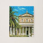 Vintage Italia, Roma, les Mura del fuori de S Pabl Puzzle