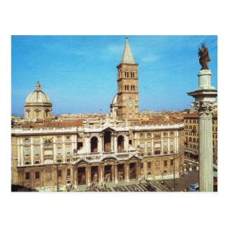 Vintage Italia, Roma, S Maria Maggiore Postales