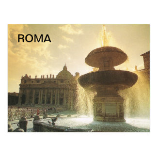 Vintage Italia, Roma, Vatican, San Pedro Postal