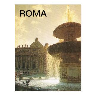 Vintage Italia Roma Vatican San Pedro Postales