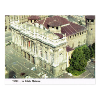 Vintage Italia, Torino, Palazzo Madama Postal