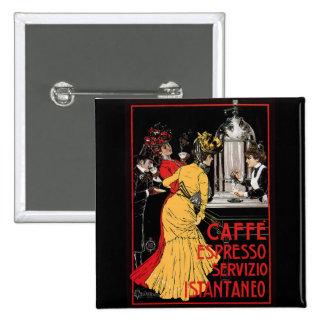 Vintage Italian Coffee espresso advertisement Pin
