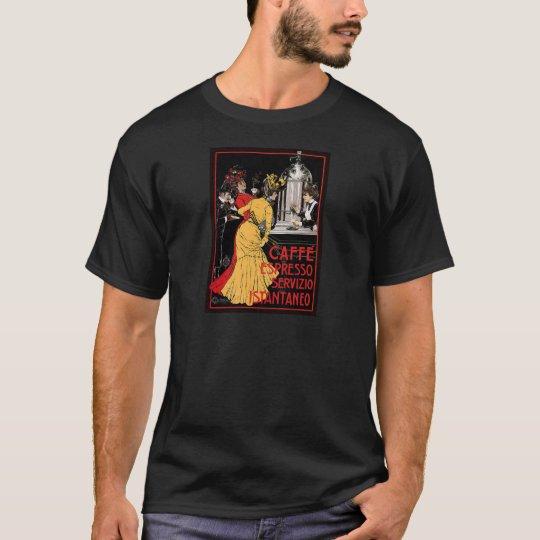 Vintage Italian Coffee espresso advertisement T-Shirt