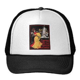 Vintage Italian Coffee espresso advertisement Trucker Hat