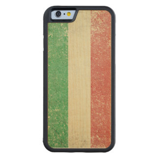 Vintage Italian Flag Iphone 6 Wood Bumper Case Carved® Maple iPhone 6 Bumper Case