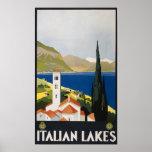 Vintage Italian Lakes Posters
