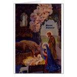 Vintage Italian Nativity Christmas Card
