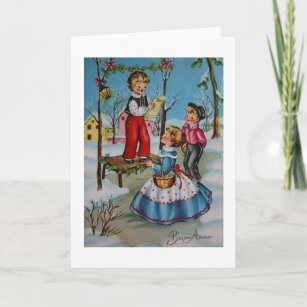 In italian new years cards zazzle vintage italian new year card buon anno m4hsunfo