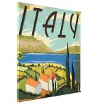 Vintage Italian Poster Canvas Print